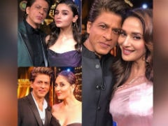 Shah Rukh Khan, Thank You For This Pic With Alia Bhatt, Kareena Kapoor And Madhuri Dixit