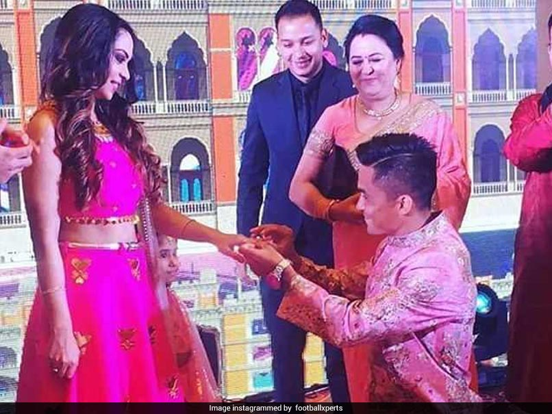 Sunil Chhetri Weds Long-Time Girlfriend Sonam