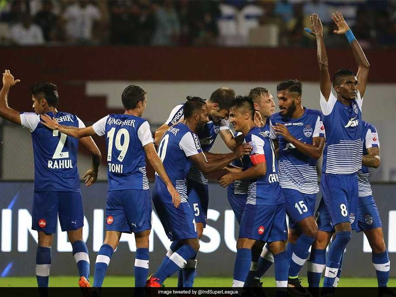 Indian Super League: Sunil Chhetri, Eduardo Martin On Target As Bengaluru FC Beat Mumbai City
