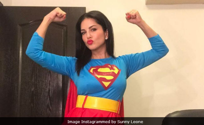 Halloween 2017: 'Superwoman' Sunny Leone Is Here To Save You