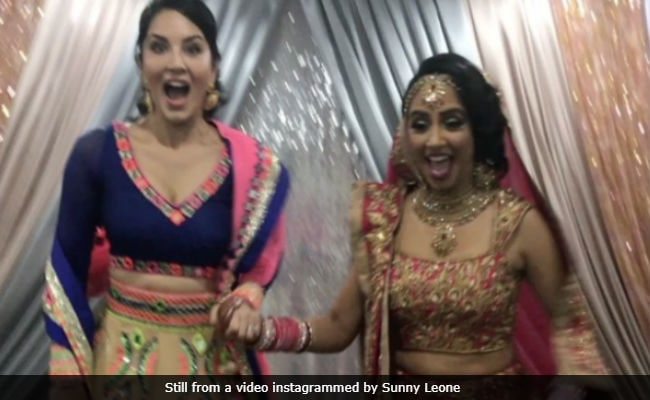 Sunny Leone Attends Cousin's Wedding In Canada. Shares Fabulous Pics And Videos