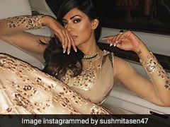 Sushmita Sen Sizzles In Gold And We Just Can't Get Enough