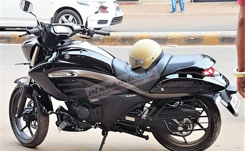 Suzuki Intruder 150 Spied In India Ahead Of Launch
