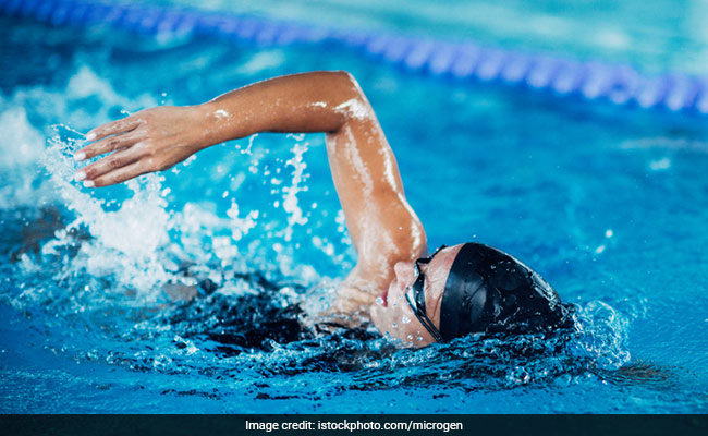 swimming is back intensive cardio exercise