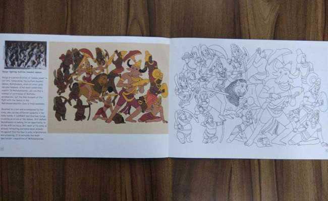 tamil nadu eco friendly colouring book