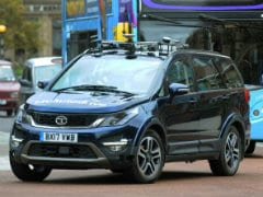 Autonomous Tata Hexa Starts On-Road Testing In The UK