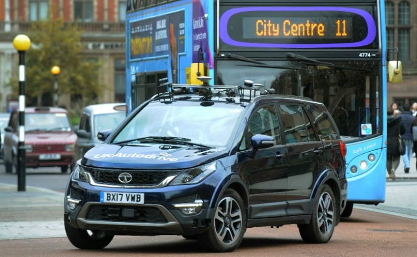 Tata Motors have started testing an autonomous version of the Tata Hexa in the UK