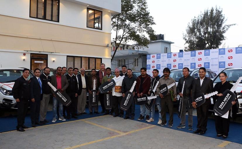 tata hexa nepal launch