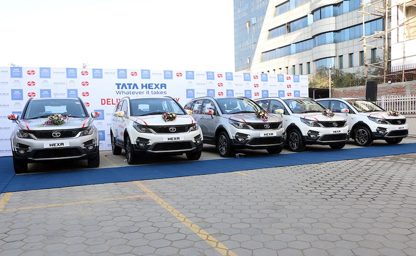 Tata CEO & MD Guenter Butschek commenced the Hexa's retail sales in Nepal