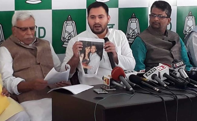 tejaswi yadav press conference 650