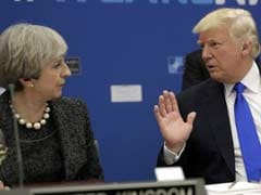 """Don't Focus On Me"": Donald Trump Attacks Theresa May Over Anti-Muslim Video Criticism"