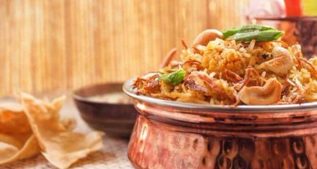 three layered biryani recipe