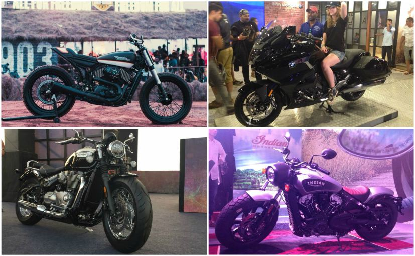 Here is our list of top 5 bikes that were showcased at India Bike Week 2017