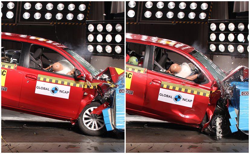 India-Made Toyota Etios Liva And Datsun GO+ Undergo Crash Test In South Africa
