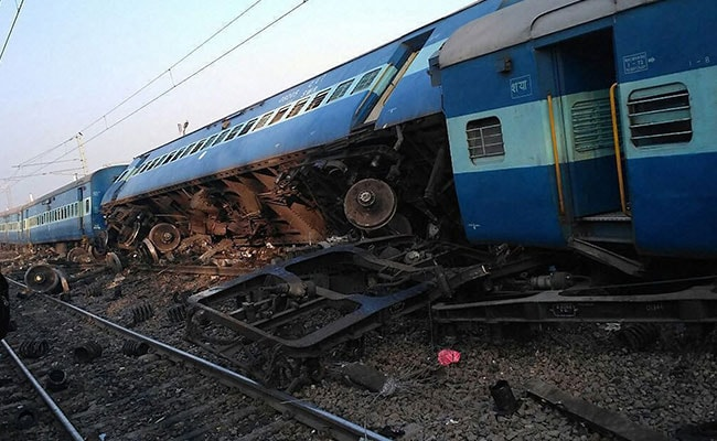 UP train derailment: Yogi announces Rs 2 lakh compensation