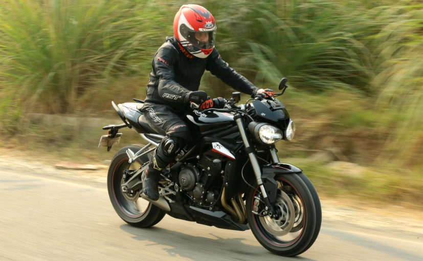 The Triumph Street Triple RS takes the performance of the base Street Triple to a whole new level