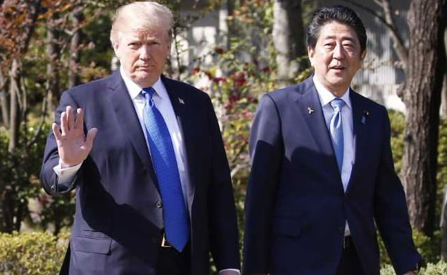 Rare Bomb Threats In Japan As Trump Kicks Off Asia Tour
