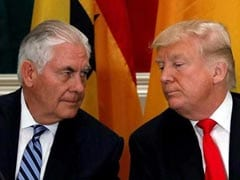 "Donald Trump Backs Under Fire Rex Tillerson; Says Rumours Are ""Fake News"""