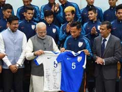 PM Modi Encourages India U-17 Players To Aim Higher