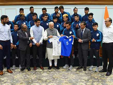 Saw Some Spark In All Of You: PM Narendra Modi To India U-17 Players