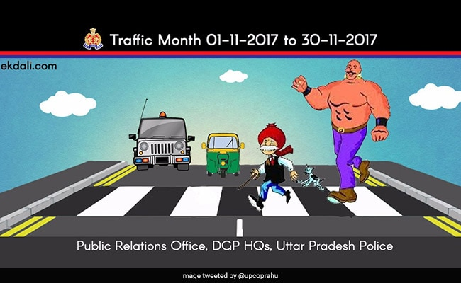 Chacha Chaudhary And Sabu Teach Road Safety In Uttar Pradesh