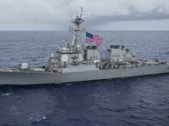 US Guided Missile Destroyer Collides With Boat In Japan, No One Hurt