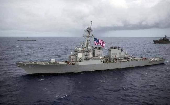 US Warships Pass Through Taiwan Strait Amid Tensions With Beijing