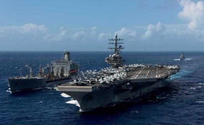 Japan's Biggest Warship To Drill With US Carriers Near Korean Peninsula