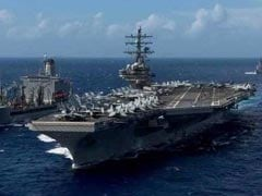 US Navy Carrier Drills With Japanese, Indian Navy In Sea Of Japan