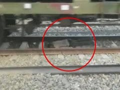 In Uttar Pradesh, Train Passes Over Man. He Walks Away Unhurt. Watch