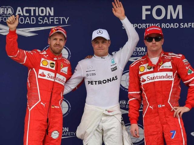 Brazilian Grand Prix: Valtteri Bottas On Pole As Lewis Hamilton Crashes Out