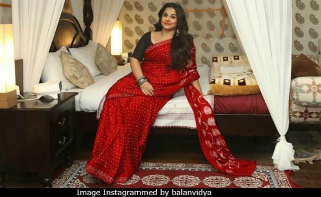 6b69fa3b49fb7d Vidya Balan's Instagram Is Saree Heaven. Our 10 Favourite Looks