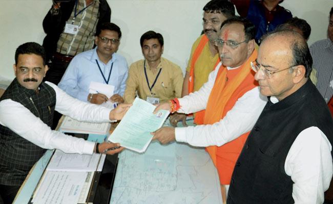 गुजरात के सीएम विजय रूपाणी के पास है 9.08 करोड़ रुपये की संपत्ति, चुनावी हलफनामे में की घोषणा
