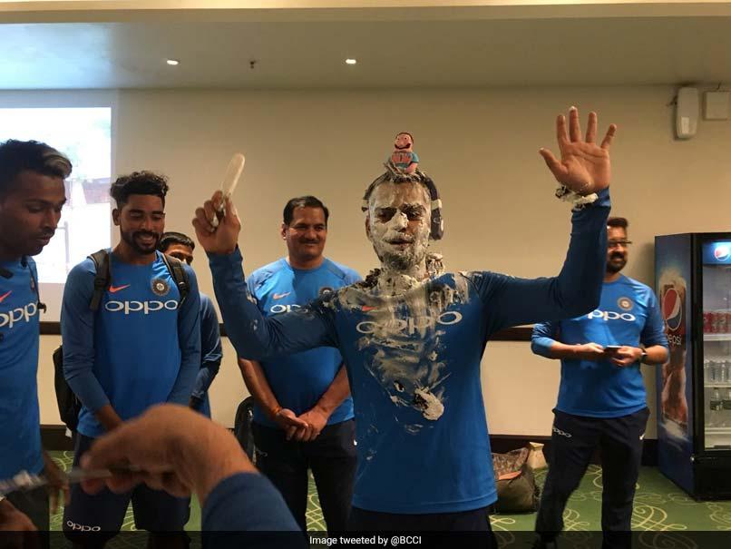 Virat Kohli Turns 29, Celebrates Birthday With Teammates