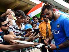 Virat Kohli's Heart-warming Gesture As He Bypasses Security To Meet Fan