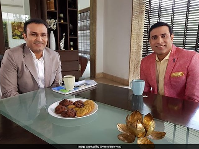Birthday Wish For VVS Laxman, Virender Sehwag Style. He Also Has A Song In Mind