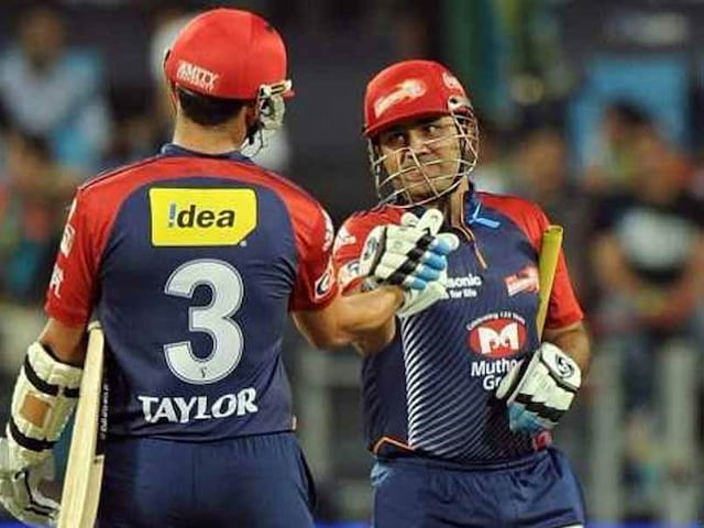 Taylor Reveals Secret Behind Hindi Banter With Sehwag