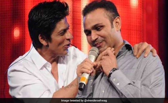 On Shah Rukh Khans Birthday, Virender Sehwag Has A Special Message For RaOne