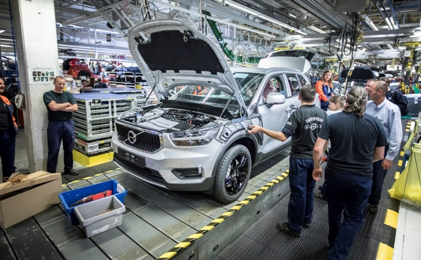 volvo xc40 production