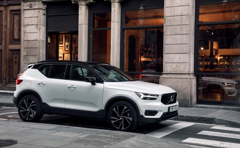 The New Volvo XC40 Is The First Car From Volvo To Be Built On The New