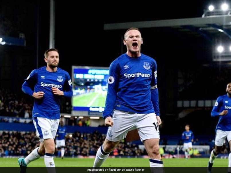 Watch: Wayne Rooney Scores Sensational Goal From His Own Half For Everton