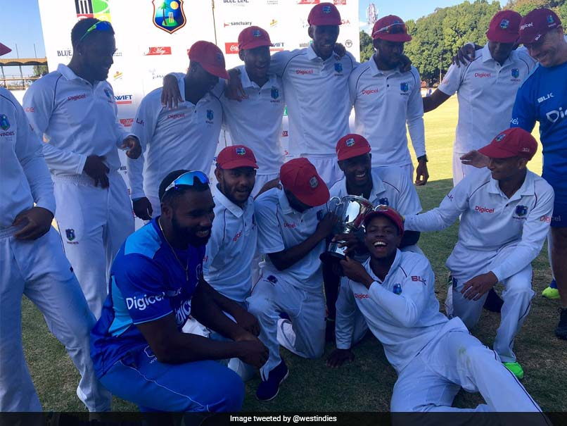 West Indies Win Test Series After Drawn Zimbabwe Test