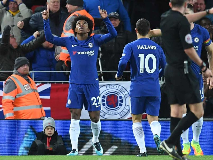 Premier League: Willian Helps Chelsea Get Back On Track With 2-1 Win Over Crystal Palace