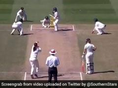 VIDEO: इस गेंदबाज ने डाली ऐसी गेंद, बल्लेबाज से लेकर अंपायर तक देखते रह गए