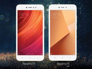 Xiaomi Redmi Y1 और Xiaomi Redmi Y1 Lite आज अमेज़न इंडिया और मीडॉटकॉम पर मिलेंगे