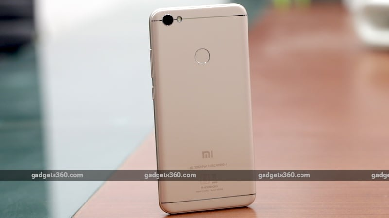 xiaomi redmi y1 back ndtv