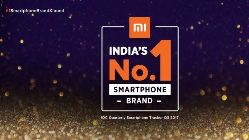 Xiaomi बनी भारत की नंबर वन स्मार्टफोन कंपनी