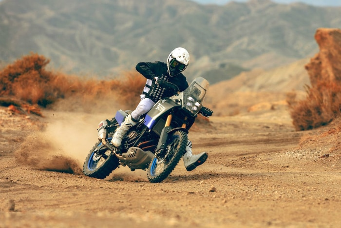The Yamaha Tenere 700 World Raid is still a prototype machine