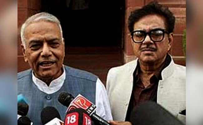 Yashwant Sinha, Shatrughan Sinha 'Disgruntled' Men With 'Devious Plot', Should Resign: BJP Leader