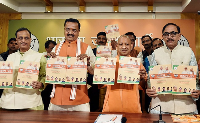 Free WiFi, 'Pink' Toilets For Women, Animal Shelter Houses: BJP's Manifesto For UP Civic Polls